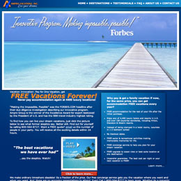 Web Developer for Ampro Vacations