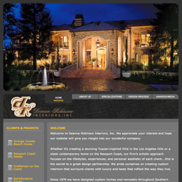 Website Developer for Deanna Robinson