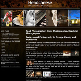 Website designer for Headcheese