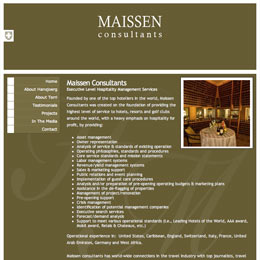 Website Developer for Maissen Consultants