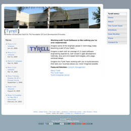 Web developer for Tyrell