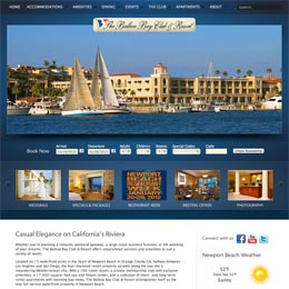 Website developer for the Balboa Bay Club