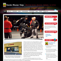 Karate Mission Viejo Web Developer