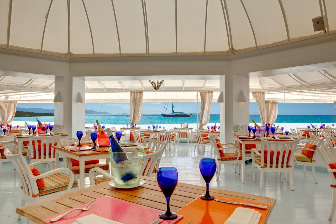 Blue Restaurant Cap Juluca Photos