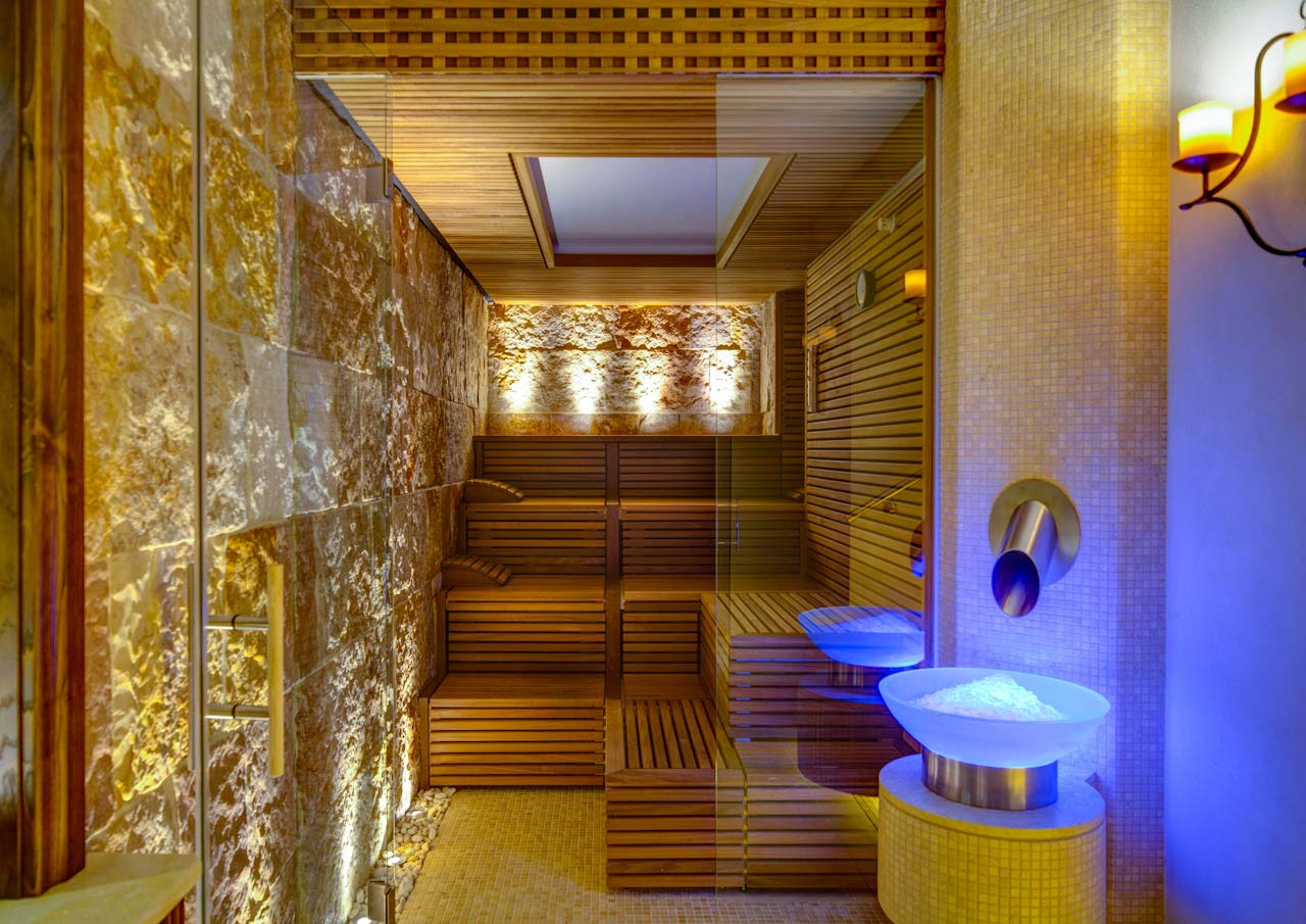 Monastero Santa Rosa Spa Steam Room photo