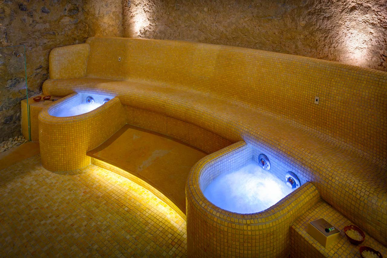 Monastero Santa Rosa Spa Foot Bath photo